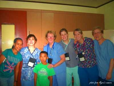Myra's homecoming & medical mission
