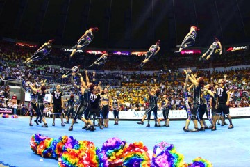 UP Pep Squad. Photo by Mark Cristino for ABS-CBNnews.com